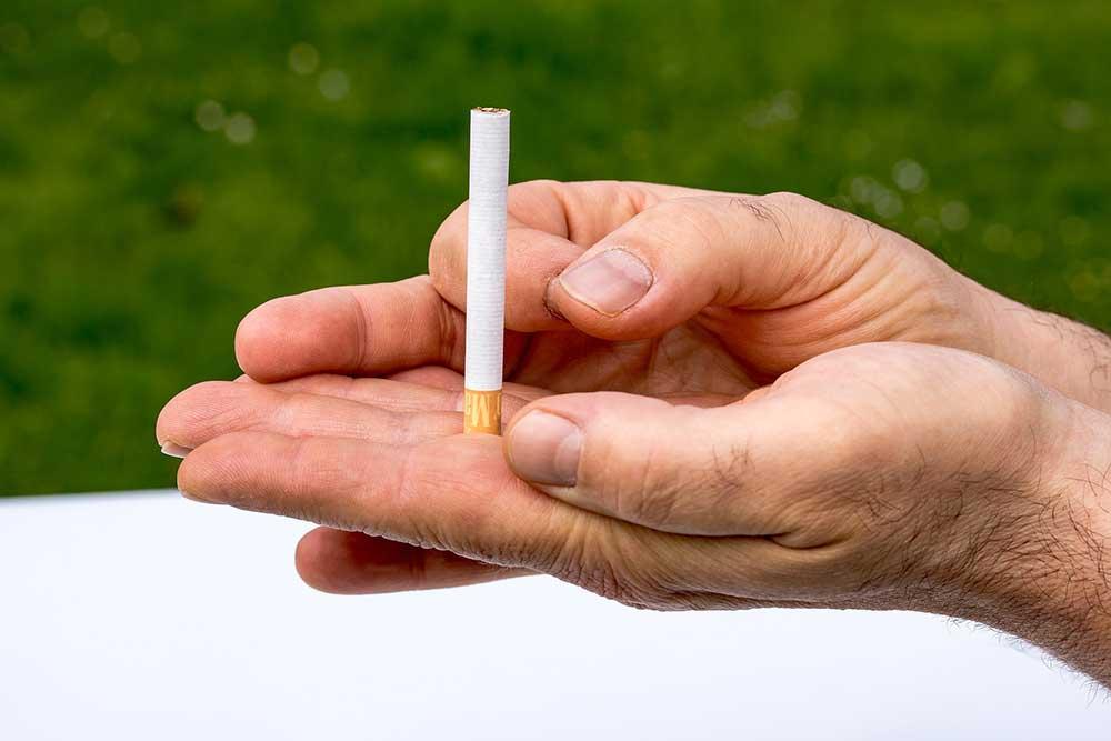 Raucher Entwöhnung